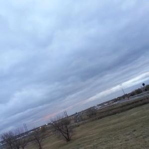 The sky last night.